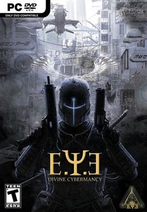 Cover for E.Y.E.: Divine Cybermancy.
