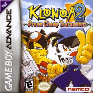 Cover for Klonoa 2: Dream Champ Tournament.
