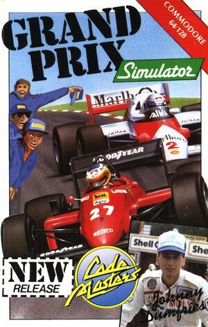 Cover for Grand Prix Simulator.