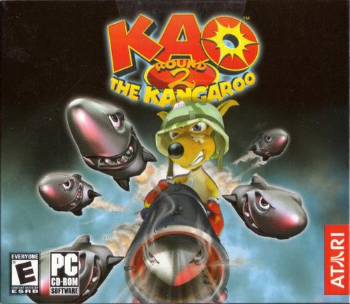 Cover for Kao the Kangaroo Round 2.