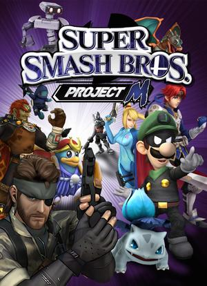 Cover for Super Smash Bros: Project M (3.6) .