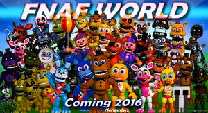 Cover for FNaF World.