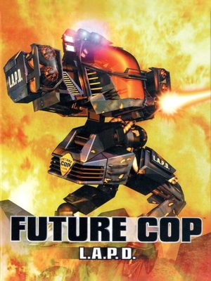 Cover for Future Cop: LAPD.