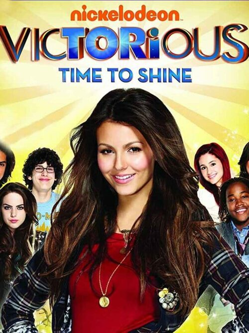 Cover for Victorious: Time to Shine.