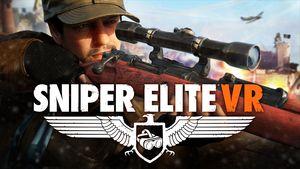 Cover for Sniper Elite VR.