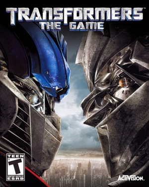 Cover for Transformers: The Game.
