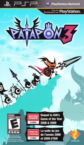 Cover for Patapon 3.