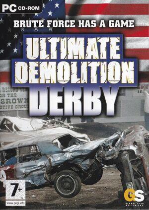 Cover for Ultimate Demolition Derby.