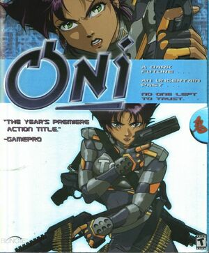 Cover for Oni.