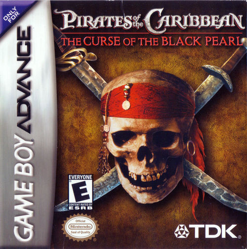 Cover for Pirates of the Caribbean: The Curse of the Black Pearl.