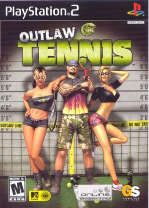 Cover for Outlaw Tennis.