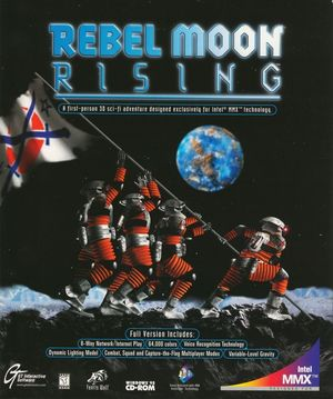 Cover for Rebel Moon Rising.