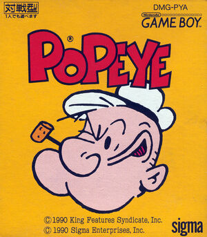 Cover for Popeye.