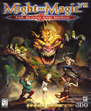 Cover for Might and Magic VII: For Blood and Honor.