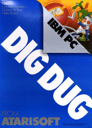 Cover for Dig Dug.