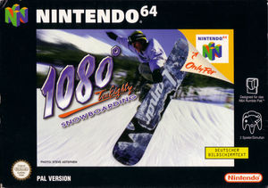 Cover for 1080° Snowboarding.