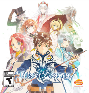 Cover for Tales of Zestiria.