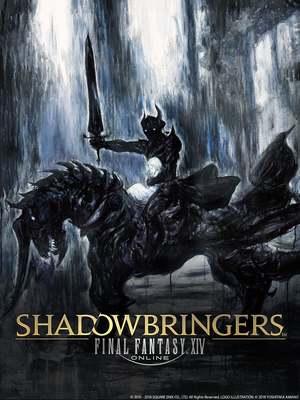 Cover for Final Fantasy XIV: Shadowbringers.