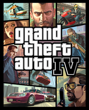 Cover for Grand Theft Auto IV.