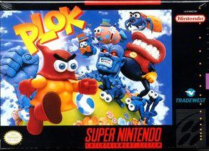 Cover for Plok.