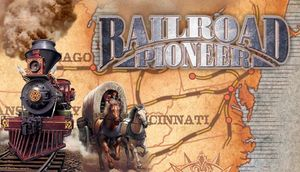 Cover for Railroad Pioneer.