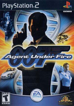 Cover for 007: Agent Under Fire.