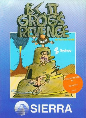 Cover for B.C. II: Grog's Revenge.