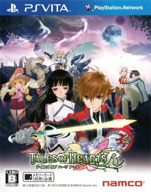 Cover for Tales of Hearts.