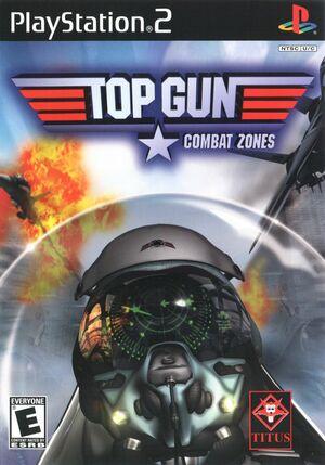 Cover for Top Gun: Combat Zones.