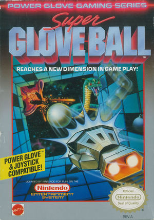 Cover for Super Glove Ball.