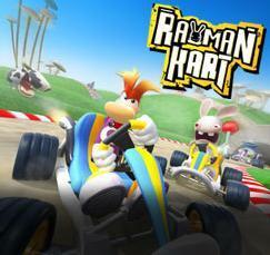 Cover for Rayman Kart.