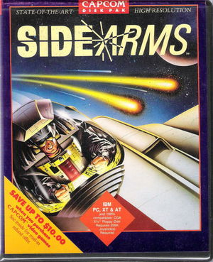 Cover for Side Arms Hyper Dyne.