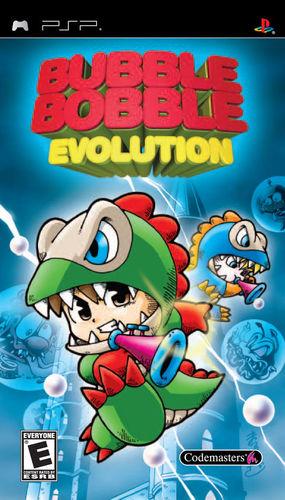 Cover for Bubble Bobble Evolution.
