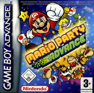 Cover for Mario Party Advance.