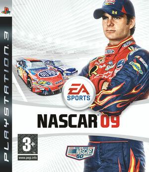 Cover for NASCAR 09.