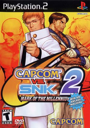 Cover for Capcom vs. SNK 2.