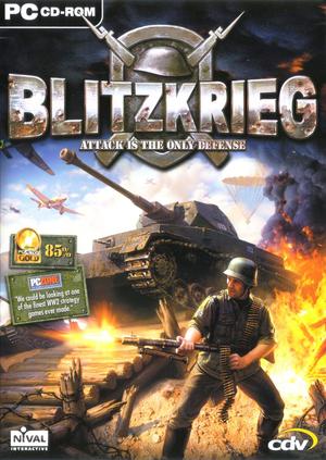 Cover for Blitzkrieg.