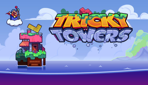 Cover for Tricky Towers.