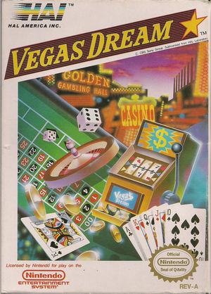 Cover for Vegas Dream.