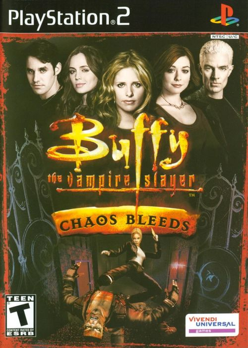 Cover for Buffy the Vampire Slayer: Chaos Bleeds.