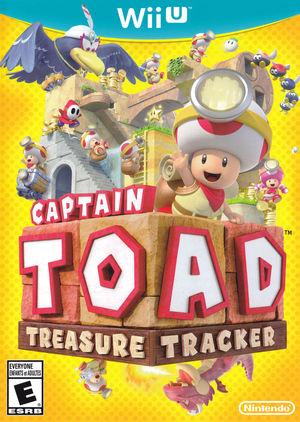 Cover for Captain Toad: Treasure Tracker.
