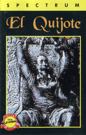 Cover for Don Quijote.