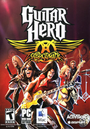 Cover for Guitar Hero: Aerosmith.