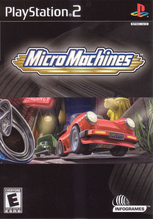 Cover for Micro Machines.
