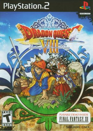 Cover for Dragon Quest VIII: Journey of the Cursed King.