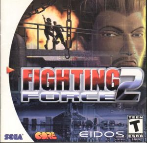 Cover for Fighting Force 2.
