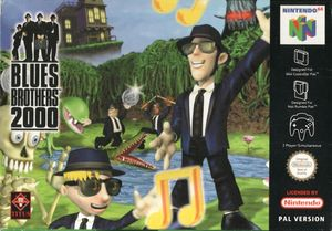 Cover for Blues Brothers 2000.