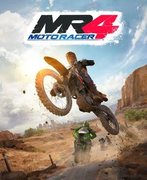 Cover for Moto Racer 4.