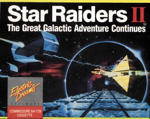 Cover for Star Raiders II.