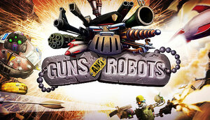 Cover for Guns and Robots.